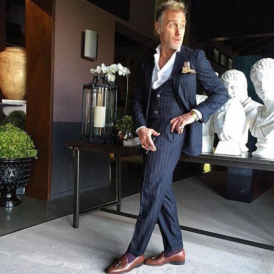 Man Of Style Gianluca Vacchi Green Acres Meets Paris